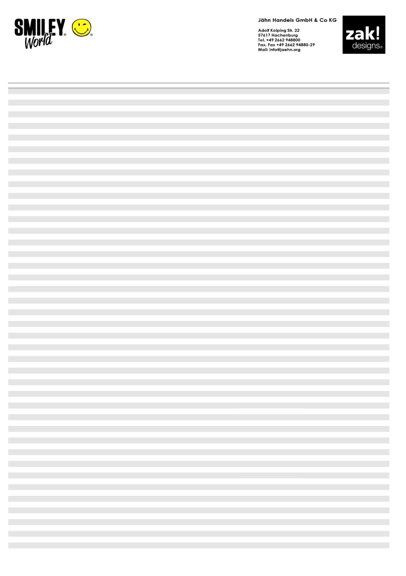 zak Designs 6187-0321 Smiley M/üslischale 15 cm Weiss